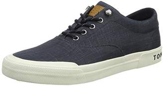 Tommy Hilfiger Men's Heritage Washed Canvas Lace up Low-Top Sneakers