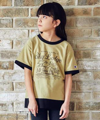 Champion (チャンピオン) - 【ジュニア】〔別注〕CHAMPION(チャンピオン)リンガーTシャツ