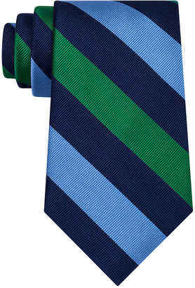 Club Room Men's Triple Bar Stripe Tie, Only at Macy's $52.50 thestylecure.com