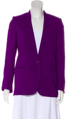 Stella McCartney Shawl-Lapel Structured Blazer