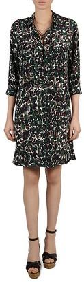 Gerard Darel Hope Camouflage Shirt Dress $460 thestylecure.com