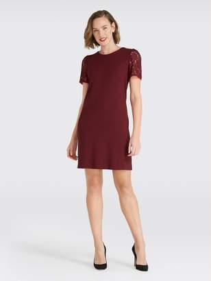 Draper James Cap Sleeve Lace Shift Dress