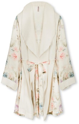 Black Label Krystal Short Robe
