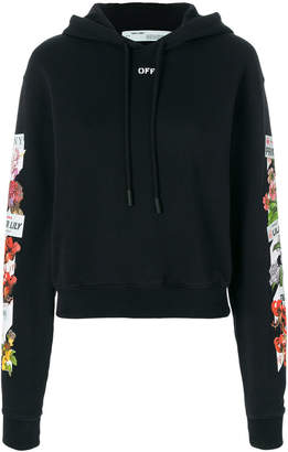 Off-White flower shop hoodie