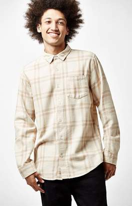 PacSun Plaid Flannel Long Sleeve Button Up Shirt