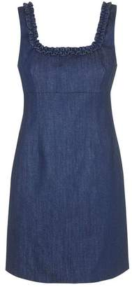 Topshop **Angie Denim Shift Dress by Unique