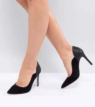 Cassandra Faith Wide Fit Pointed Heeled Shoes