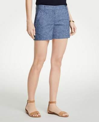 Ann Taylor Petite Chambray City Shorts