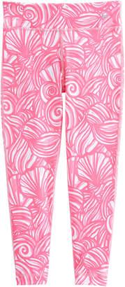 Vineyard Vines Girls Nautilus Shell Print Performance Leggings