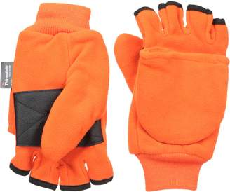 Quietwear Men's Fleece Flip Mitten with 40 GR Thinsulate