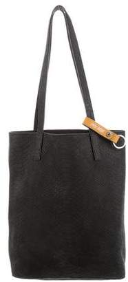Barneys New York Barney's New York Embossed Suede Tote
