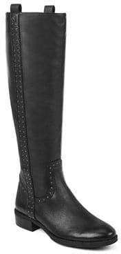 Sam Edelman Prina Studded Leather Riding Boots