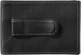 Johnston & Murphy Leather Money Clip Wallet