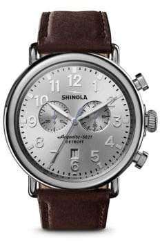 Shinola The Runwell Two-Eye Chronograph Watch