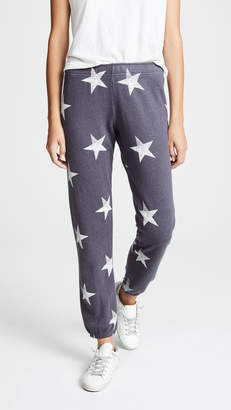 Monrow Oversized Star Sweatpants