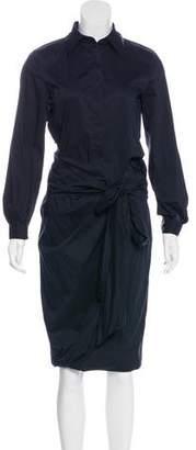 Max Mara Cutout Midi Dress