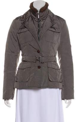 Max Mara 'S Fur Trimmed Jacket