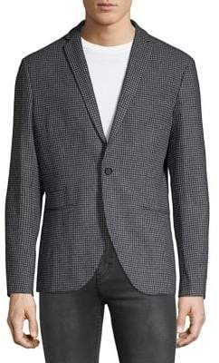Selected Slim-Fit Checkered Sports Coat