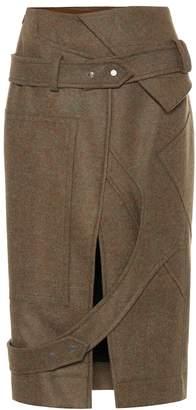 Altuzarra Anniversary collection Driftwood wool skirt