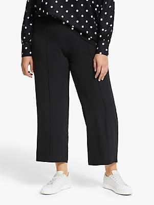 Junarose Curve Rio Cropped Trousers, Black