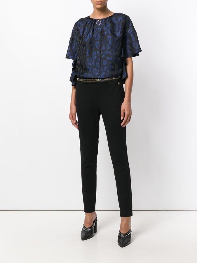 Class Roberto Cavalli high-waisted skinny trousers