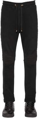 Balmain Cotton Jersey Sweatpants