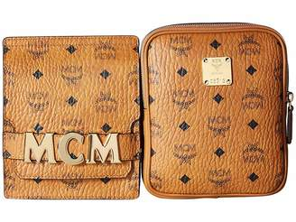 MCM Stark Double Logo Belt Bag