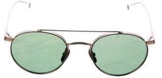 Dita Journey Round Tinted Sunglasses