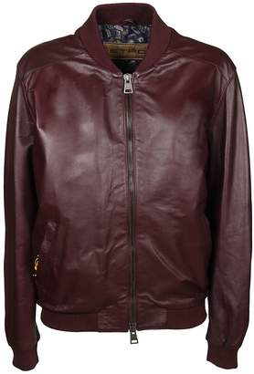 Etro Zipped Bomber Jacket