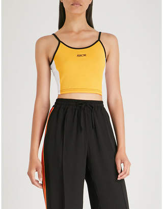 THE RAGGED PRIEST Buzz cotton cropped top
