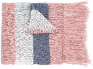 Alysi fringed scarf