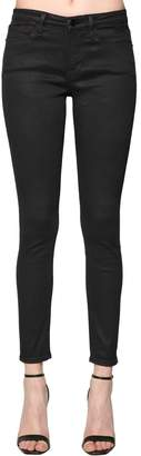Frame Skinny Jeanne Coated Denim Jeans