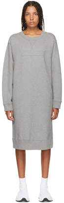 Maison Margiela Grey Sweatshirt Dress