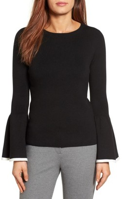 Women's Halogen Flare Sleeve Sweater $79 thestylecure.com