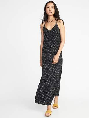 Old Navy Printed V-Neck Maxi Shift Dress for Women