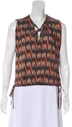 Etoile Isabel Marant Printed Sleeveless Top