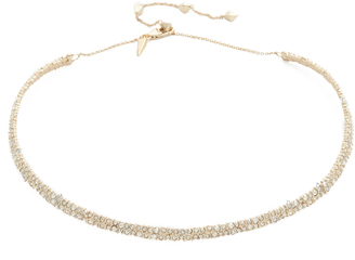 Alexis Bittar Crystal Spike Choker Necklace $255 thestylecure.com