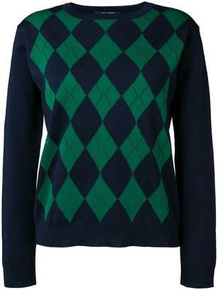 Sofie D'hoore Morgan argyle intarsia sweater