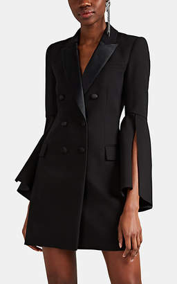 Prabal Gurung Women's Crepe Blazer-Style Sheath Dress - Black