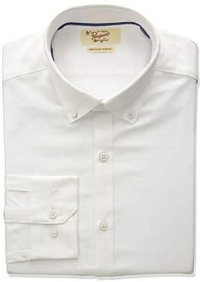 Original Penguin Men's Slim Fit Button Down Collar Oxford Dress Shirt