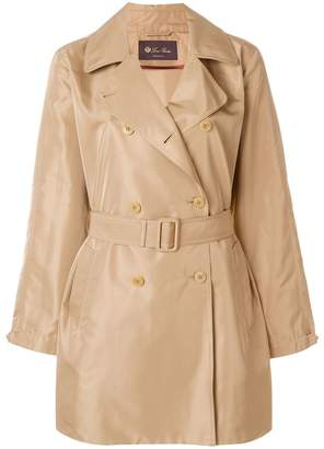 Loro Piana double breasted trench coat