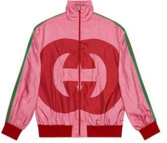 Gucci Interlocking G technical jersey jacket
