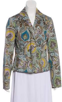 Etro Casual Printed Blazer