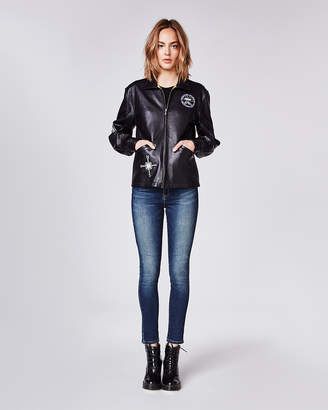 Nicole Miller New York Leather Jacket