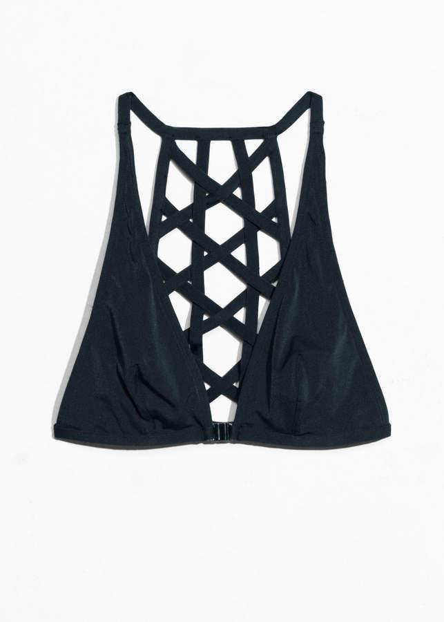 Strap-Detail Bikini Top