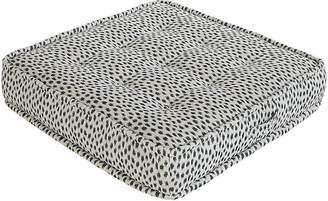 Lane Venture/Okl Tufted Floor Cushion - Blue Cheetah Sunbrella - LANE VENTURE/OKL