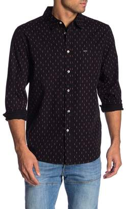 Obey Screw Print Long Sleeve Shirt