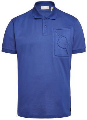 Green Cotton Moncler Genius 5 Moncler Craig Polo T-Shirt