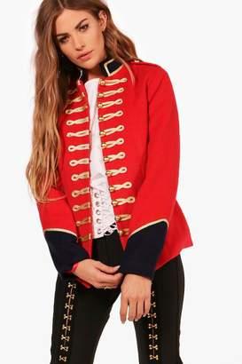 boohoo Hannah Military Style Jacket