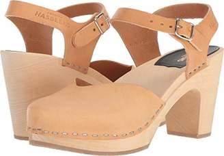 Swedish Hasbeens Women's Covered Super High Heeled Sandal